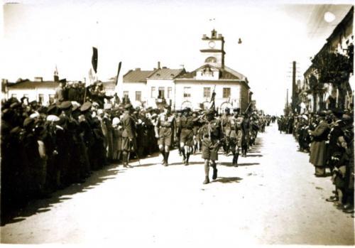 Defilada przed 1936